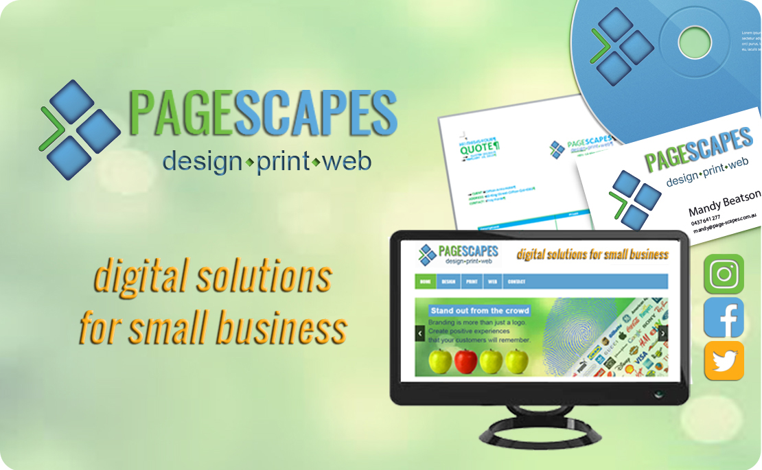 Page-Scapes - Design Print Web